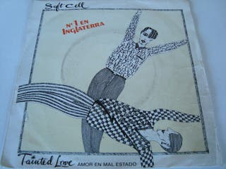 """SOFT CELL-.TAINTED LOVE- SINGLE VINILO 7""""."""