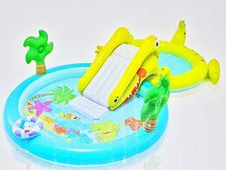Centro acu tico con tobog n y 2 piscinas 2018 new de for Tobogan piscina segunda mano