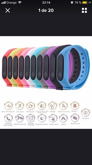 M2 smartband pulsera reloj