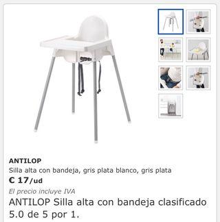 De Wallapop Segunda € Antilop 15 Niño Madrid En Silla Ikea Mano Por deCxBo