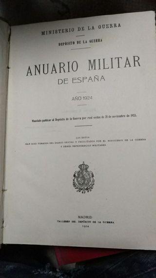 anuario militar de españa 1924