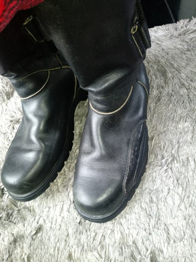 botas moteras hugo boss