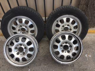 4 Llantas bmw y rueda repuesto