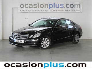 Mercedes-Benz Clase E E 350 CGI Coupe Blue Efficiency Elegance 215 kW (292 CV)
