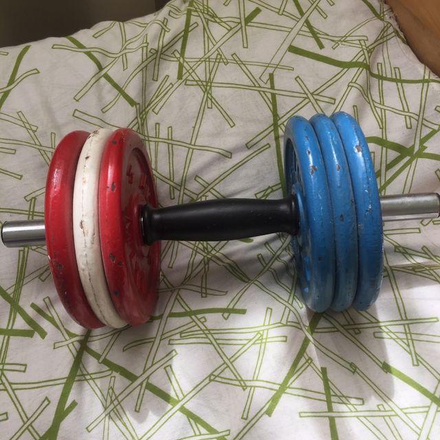 Mancuerna musculacion 6kg