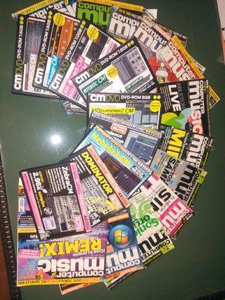 lote revistas Computer Music
