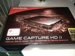 CAPTURADORA Game capture HD II