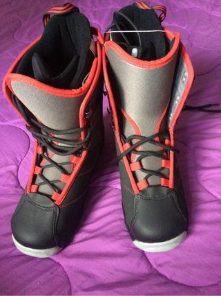 botas de snow 39 25,5 cm