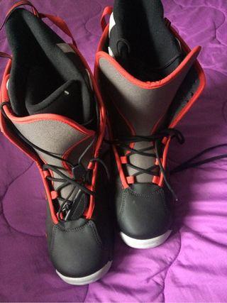 botas snow 45 29 cm quechua