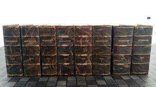 Admito ofertas. Colección libros antiguos 8 tomos