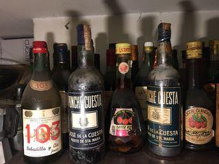 Botellas antigua