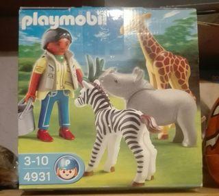 Playmobil Huevo Safari 4931