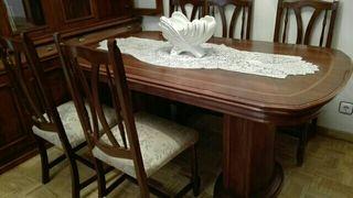 Mesa comedor con sillas de segunda mano en la provincia de Asturias ...