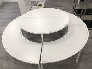 Mesa redonda, se vende entera o la mitad