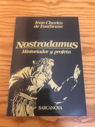 Libro Nostradamus historiador y profeta