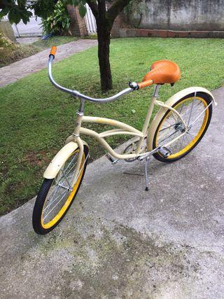 Bicicleta cruiser paseo