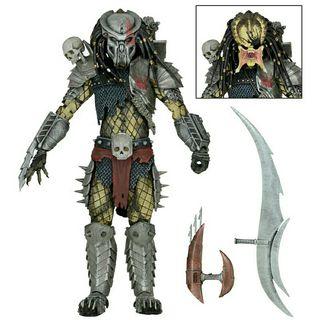 Juguete Predator Jungle hunter Diorama de NECA