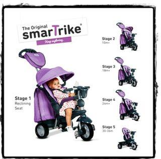 triciclo smartrike explorer morado