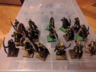 Warhammer Guardianes del Bosque Elfos Silvanos