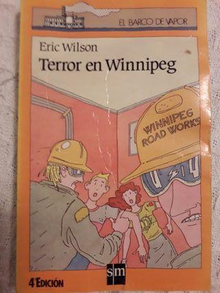Libro. Terror en Winnipeg.