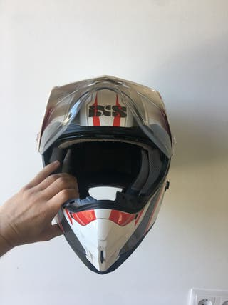 Casco de moto motocroos