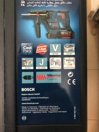 Martillo Bosch GBH 36 V-LI Professional NUEVO !!