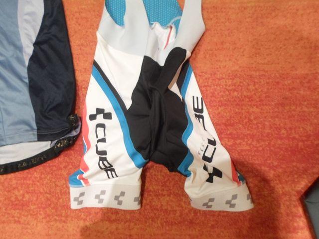 maillot nalini y culotte cube bicicleta L