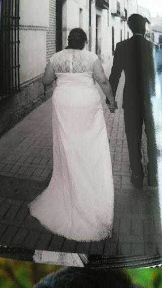 vestido de novia talla grande de segunda mano en madrid en wallapop