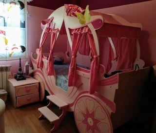 cama carroza de princesa