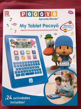 Tablet niños Pocoyo nueva!!!