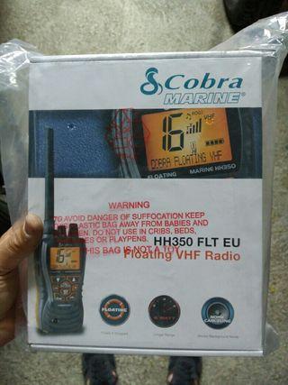 emisora walkie marino cobra 350
