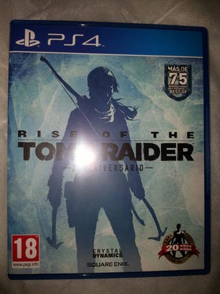 rise of the TOM RIDER para PS4