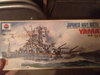 Maqueta barco Yamamoto