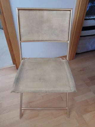 2 sillas jardin toque brillo