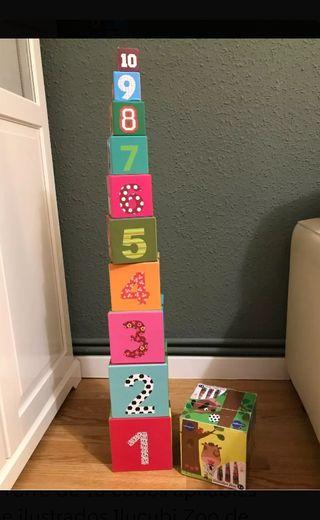 cubos apilables de imaginarium