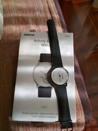 reloj nokia control actividad