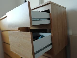 Two bedside tables/chest of two drawers