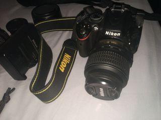 Nikon D5100 + 2 Obj + Bolso + Cargador + Correa