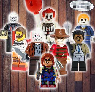 Halloween Viernes 13 TERROR figura PRECINTADA