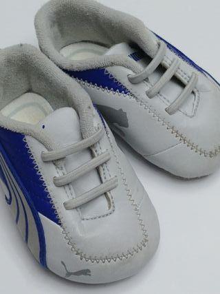 deportivos zapatos zapatillas puma bebé talla 18