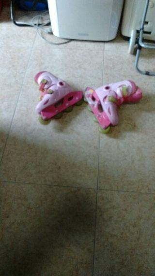 patines línea para niñas