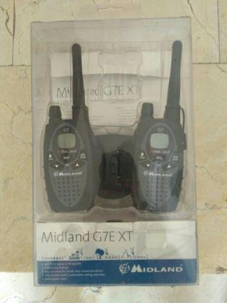 Walkie talkies Midland G7E XT