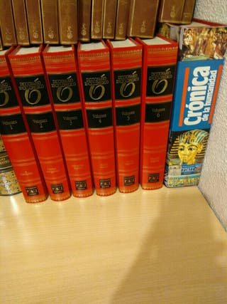 Diccionario enciclopédico 6 libros