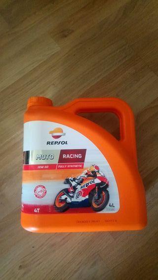 aceite moto repsol 10w50 4 litros