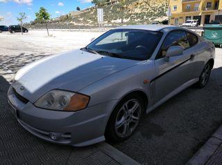 Hyundai Coupe 2005 color plata 2000 full equip