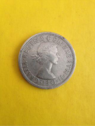 Moneda Gran Bretaña Isabel II