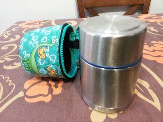 Termo papillero 0,5 litros metal