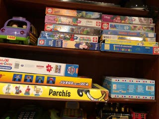 Juguetes : puzzles, coches