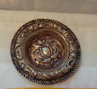 antiguo vaciabolsillos de plata