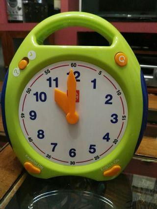Reloj educativo